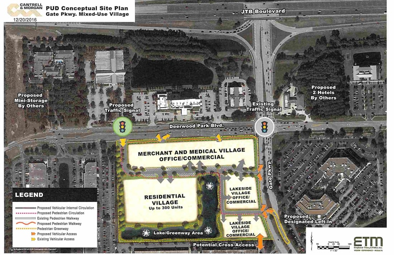 New Gate Parkway-Deerwood Park Blvd Development Announced