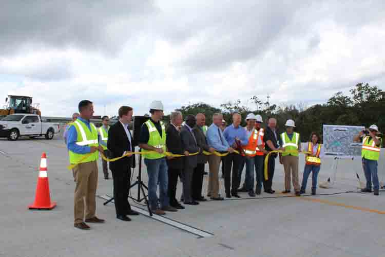 JTB-I95 FlyOver Opens with Ribbon Cutting by Governor and Local Officials
