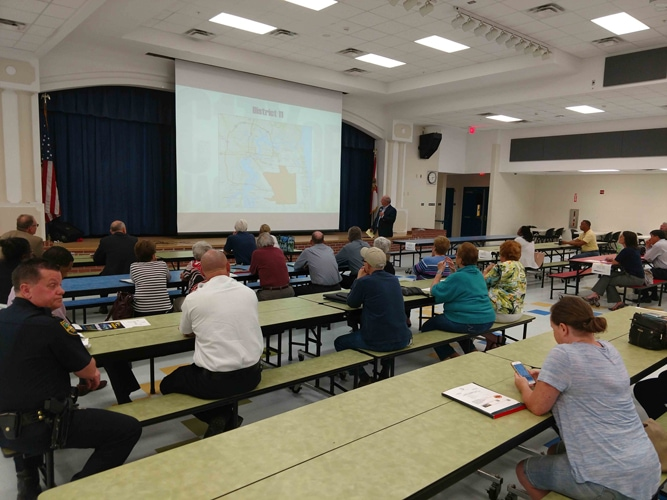 Council Member Becton Holds District 11 Town Hall South