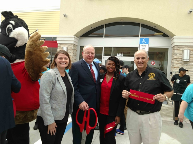 CM Becton Helps Open First Southside Wawa in Town Center