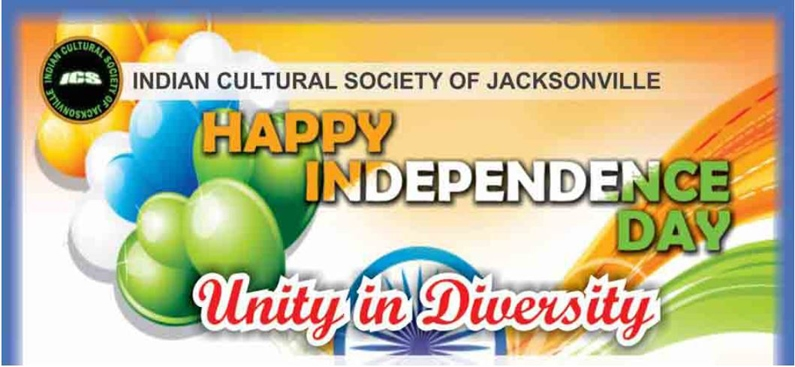 CM Becton joins the Indian Cultural Society of Jacksonville To Celebrate India's 72nd Independence Day
