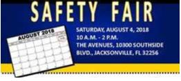 CM Becton Attends Annual JSO Safety Fair Event