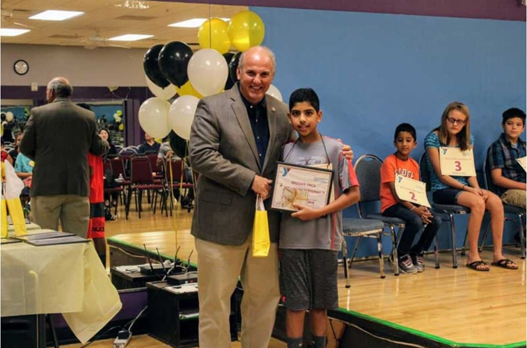 CM Becton Helps Judge Brooks Family YMCA's 2nd Annual Spelling Bee