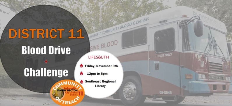 CM Becton Hosts District 11 Blood Drive with LifeSouth