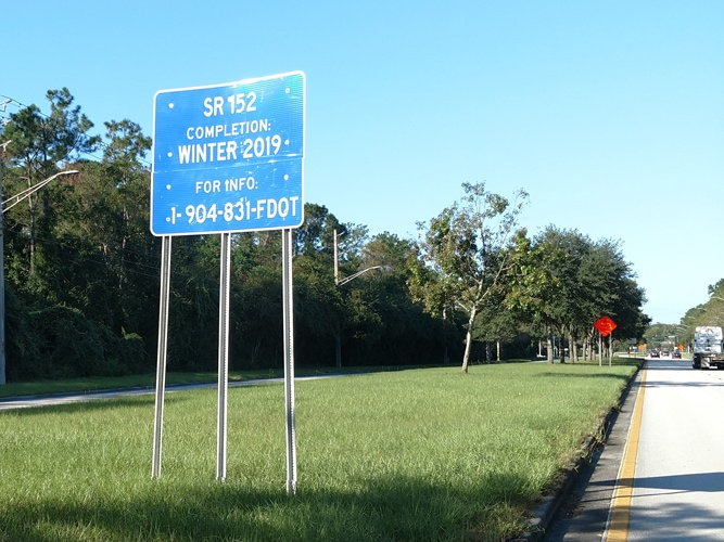 FDOT Baymeadows Sign