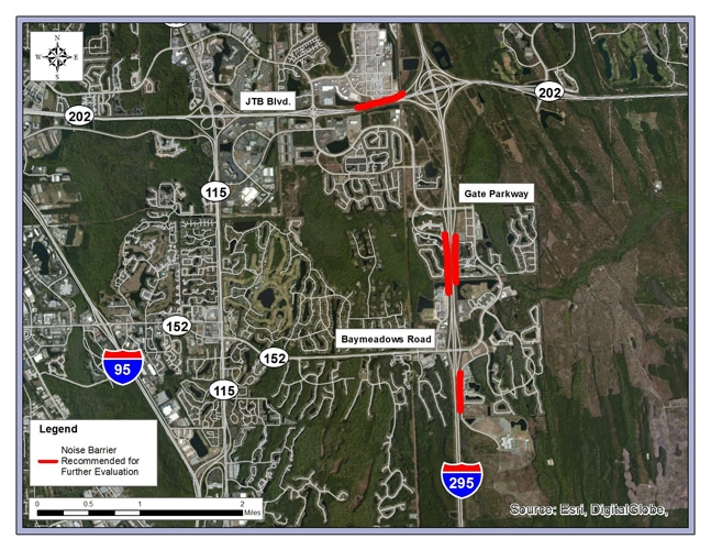 FDOT Announces Additional Capacity on I-295 East Beltway