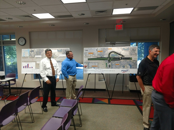 FDOT Holds Public Meeting Regarding Future Planned Improvements for Southside – Deerwood Park Blvd Intersection