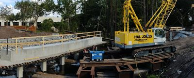 Deerwood Park Blvd Bridge Widening Begins