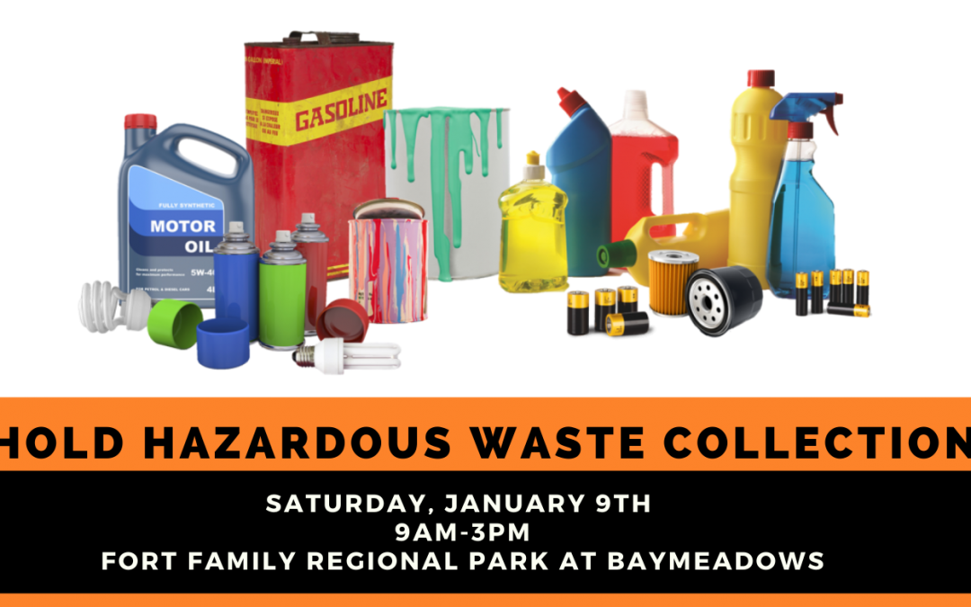 District 11 Household Hazardous Waste Collection Event