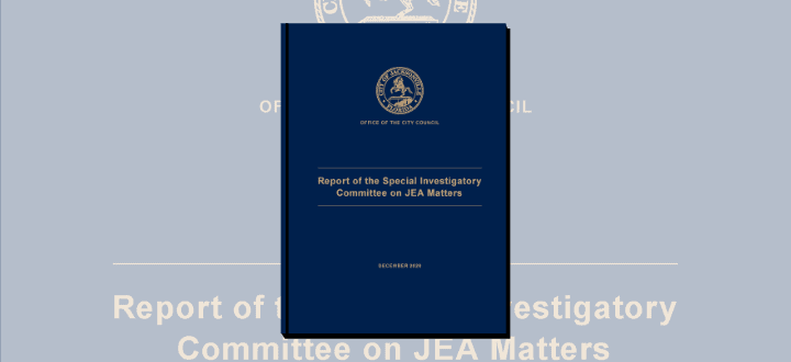 JEA Special Investigatory Committee Report Released