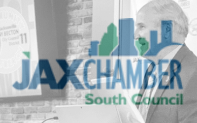 CM Becton Speaks to Jax Chamber South Council