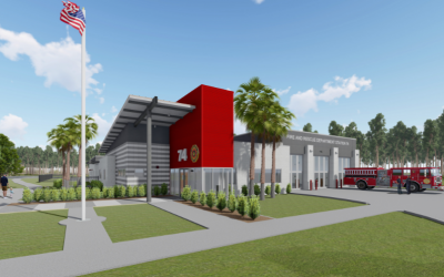 CM Becton Breaks Ground at the Site of Future Fire Station 74